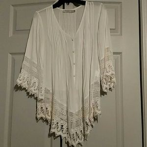 Ivory Solitaire Blouse
